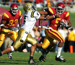 2005 Heisman Trophy winner Reggie Bush