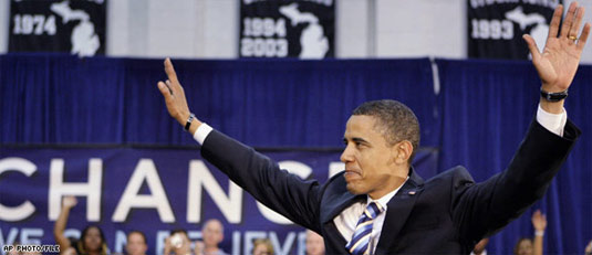 obama wind democratic nomination