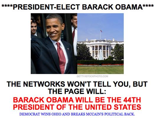 barack obama president elect