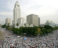 Immigration Rally, Los Angeles, March 25, 2006