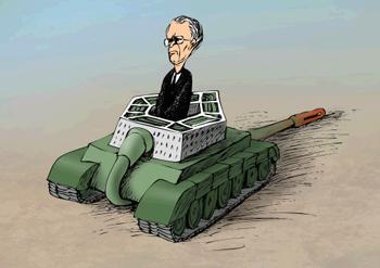 Rumsfeld by Alexandr Zudin, St. Petersburg, Russia