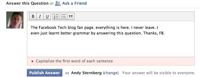 facebook questions tech blog walled garden