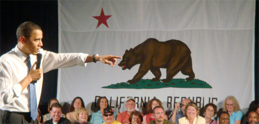 President Barack Obama at Costa Mesa Town Hall