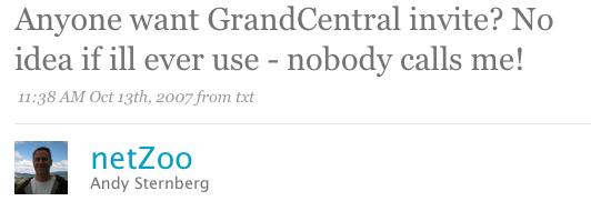 grandcentral invites