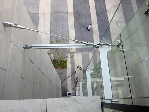 JW Marriott Steel Beam Walls Earthquake stability