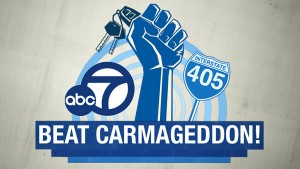 kabc and waze beat carmageddon