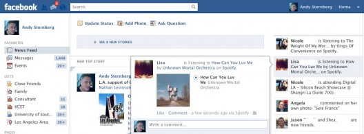 Facebook hyper news feed