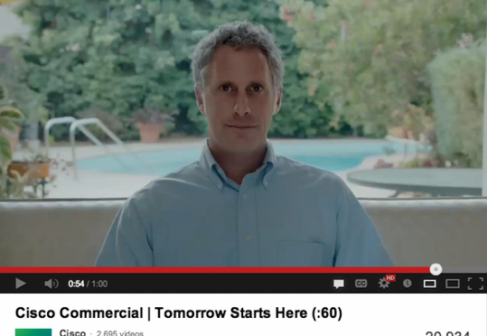 andy sternberg cisco commercial internet of everything ad